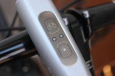 Blaze bike light uses a laser to keep cyclists safer