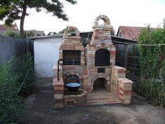 Backyard Kitchen, Summer Kitchen, Outdoor Kitchen Design, Backyard Patio, Outdoor Oven, Outdoor Cooking, Grill Area, Garden Furniture, Rustic Decor