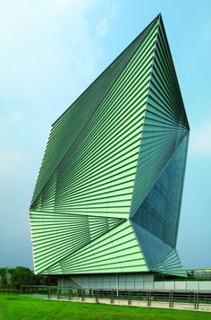 Centre for Sustainable Energy Technologies / Mario Cucinella Architects