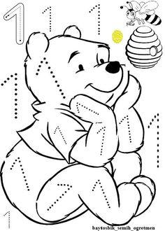 6 rakamı Numbers Preschool, Preschool Printables, Math Activities, Preschool Activities, Abc Coloring Pages, Activity Sheets For Kids, Free Kindergarten Worksheets, Math For Kids, Kids Education