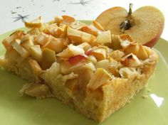 German Apple Cake (Versunkener Apfelkuchen) from Food.com: Epicurious | October 2000 The World of Jewish Desserts This is one of the many types of apple cake popular throughout central Europe. I have seen apple cakes, a traditional Rosh Hashannah dessert, served on Sabbath and holiday tables from Israel to Australia