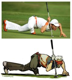 I love Golf Soldier 76 (The pose is a bit off but, eh)