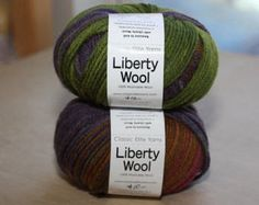 Liberty Wool    color 78127 lot 6704 by RosePathWeaving on Etsy