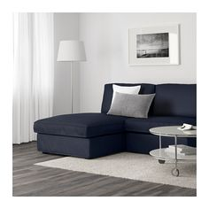 KIVIK 2 chaise longues en fauteuil - Orrsta donkerblauw - IKEA