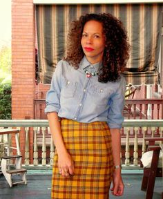 #lagelle #pittsburgh #vintage #chambray #jcrew #naturalhair #curls #latinas #plaid  Lagelle, the Art of accessorizing......... http://blog.lagelle.com