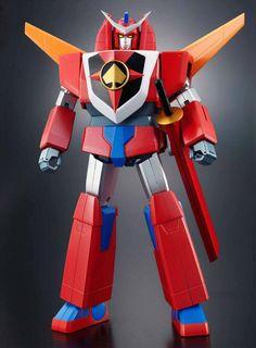 Ace Redder - Uno dei componenti che formano il robot Daioja.