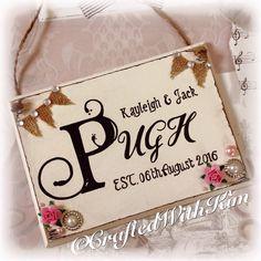 #vintagewedding #weddingplaque #weddingkeepsake #distressed #handwritten personalised to your requests  Www.facebook.com/CraftedWithKim