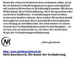 Die Kunst der Veränderung - Das Seminar. Am 14. / 15. 12. in #Wien. Jetzt buchen und Frühbucherrabatt nutzen!  http://nielskoschoreck.de/die-kunst-der-veranderung/