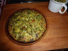 Italian Vegetable Quiche