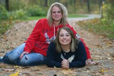 Mother and Daughter senior picture