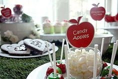 Snow White candy buffet by inviteme