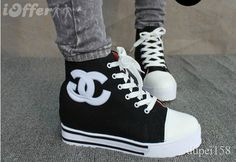 platform converse Platform Converse, Platform Sneakers, High Top Sneakers, High Heels, Lace Up Shoes, High Tops, How To Wear, Clothes, Women