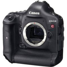 "Canon EOS-1D C Camera   Product Highlights  •18.1Mp CMOS Sensor  •4K Cinematic Quality Video  •1920 x 1080 Full HD Video  •Dual DIGIC 5+ Image Processors  •3.2"" LCD Screen  •Eye-Level Pentaprism Viewfinder  •Dual CF Card Recording Media  •Canon EF Lens Mount  •Magnesium Alloy Body  •61-Point High Density Auto Focus"
