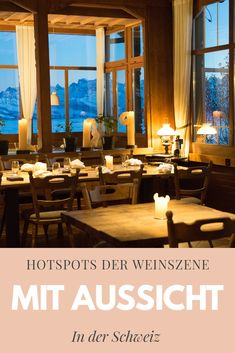 Drei Hotspots der Weinszene Das Hotel, Table Decorations, Home Decor, Scene, Food And Drinks, Decoration Home, Room Decor, Home Interior Design, Dinner Table Decorations