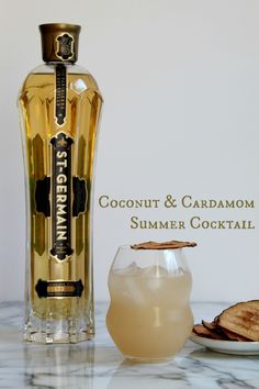 Coconut & Cardamom Summer Cocktail
