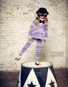 Top and leggings by Mini Rodini, shoes by Sonatina all at Shan and Toad kids fashion online store