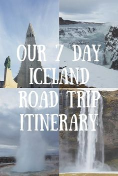 Iceland Road Trip Itinerary - Driving around Iceland in the winter including the Golden Circle