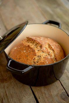 Piece Of Bread, Lchf, Cornbread, Pesto, Vegan, Baking, Ethnic Recipes, Millet Bread, Bakken