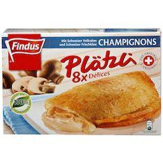 Findus Délices aux champignons conglés 8 pièces Chicken, Meat, Food, Kitchens, Hoods, Meals, Kai