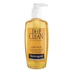 Buy Neutrogena Deep Clean Facial Cleanser, $13.99