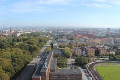 Watching Malmoe from West to East