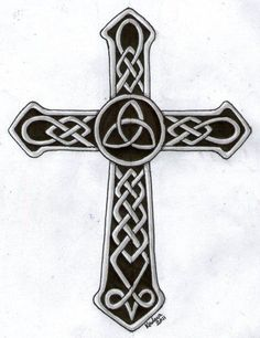 celtic cross wth triquetra | Charmed | Pinterest | Celtic Crosses ...