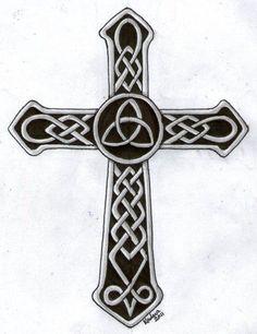 celtic cross wth triquetra | Charmed | Pinterest | Celtic Crosses ...