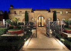 Great Luxury Mediterranean Homes | Mediterranean Luxury Mansion Mediterranean  Style Homes, Spanish Style Homes, California