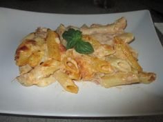 FORNELLI IN FIAMME: OVEN-BAKED PASTA WITH GRUYERE, SBRINZ AND MORTADEL...