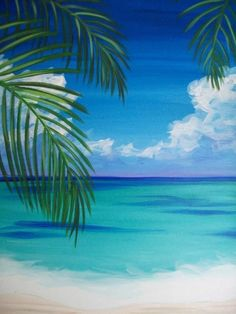Canvas painting are great way to decorate and enrich any space. Check out these painting ideas you can easily do canvas art by yourself. Beach Canvas Paintings, Easy Canvas Painting, Simple Acrylic Paintings, Diy Canvas Art, Diy Painting, Acylic Painting Ideas, Easy Painting Projects, Simple Oil Painting, China Painting