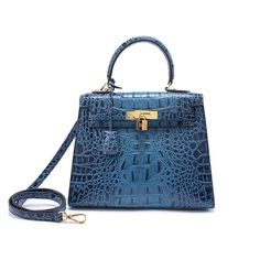 59.99$  Watch now - http://alicz7.worldwells.pw/go.php?t=32721696644 - 2017 Luxury Brand women genuine leather shoulder bags Famous Design crocodile pattern female totes bags Euramerican new handbag 59.99$