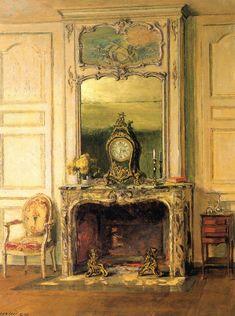 The Ghose Room (Château de Fortoiseau) / Walter Gay