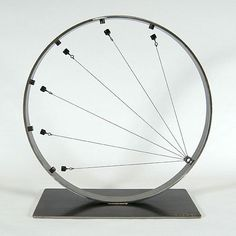 Large magnetic sculpture using high powered rare earth magnets Hmmm.How could I use this in a kinetic or automata mechanism?