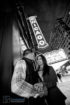 Chicago Engagement Photos by Christopher|F Photography - www.ChristopherFPhotography.com