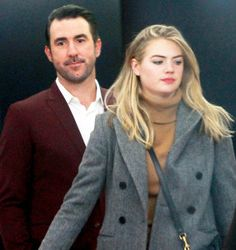 Kate Upton and Justin Verlander Make First Public Appearance as Newlyweds