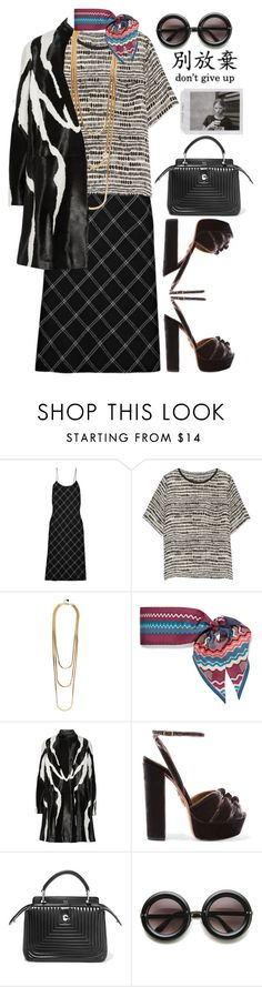 """Sin título #1179"" by meelstyle ❤ liked on Polyvore featuring TIBI, Vince, Rosantica, Missoni, Tom Ford, Aquazzura, Fendi and ZeroUV"