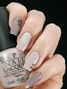 long nails nude color