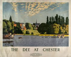 WILKINSON, Norman - THE DEE AT CHESTER..16
