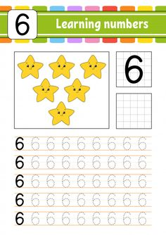 Trace And Write. Learning Numbers For Kids. Numbers Preschool, Preschool Education, Preschool Letters, Learning Numbers, Kindergarten Writing, Preschool Math, Activities For 2 Year Olds Daycare, Math For Kids, Learning Activities