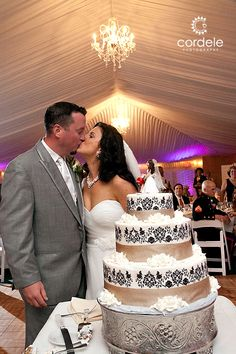 This wedding was extremely sentimental for me. I shot my first few weddings at the Wayside Inn with my mentor Jerry Schrader. Wedding Cake Photos, Wedding Cakes, Tent Wedding, Chandelier, Inspiration, Wedding Gown Cakes, Candelabra, Biblical Inspiration, Wedding Pie Table