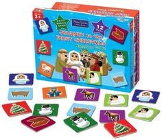 Journey to the First Christmas Matching Game: Bible Train Adventures. A perfect first memory game! Only 12 pairs. Colorful graphics of the Bible Train's adventure to the nativity story. Part of the Bible Train Adventures collection. Wonderful holiday gift!. Price: $10.19