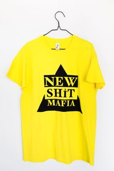 NSM WEAR URBAN COLLECTOR (YELLOW) The Collector, T Shirt, Urban, Yellow, How To Wear, Tops, Fashion, Blunt Haircut, Hale Navy
