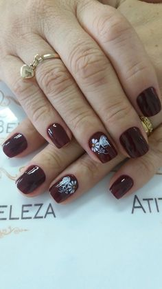Nail Designs, Design Ideas, Nail Art, Nails, Red, Beauty, Style, White People, Nail Ideas