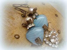 hearts aren't made to break earrings . one of a kind door etXarte, $52.00