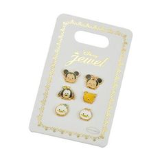 Pierce 6P set TSUM TSUM Mickey & Friends