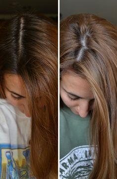 Diy highlights for dark hair at home diydrywalls diy highlights super cheap only one dollar solutioingenieria Images