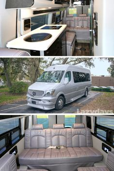 Like Sprinter Vans? Then you'll LOVE the luxury found in the Dolphin from Dolphin Motorcoach! Class B Motorhomes, Motorhomes For Sale, Travel Trailers For Sale, Used Rvs, Sprinter Van, Rv Life, Caravan, Dolphins, Vans