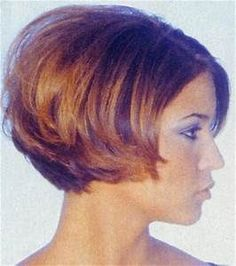 hairsytle: short layered bob hairstyle