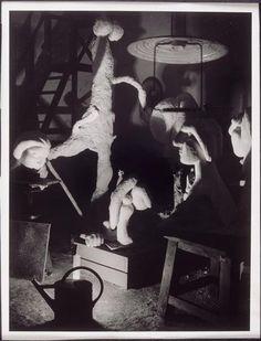 brassac3af-atelier-de-boisgeloup-avec-des-sculptures-de-picasso-1932-