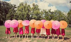 Color Paper Parasol  5 Pack by papercrew on Etsy, $60.00